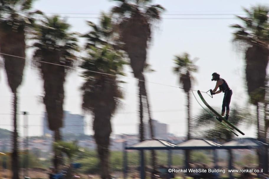 אליפות ישראל בסקי מים בכבלים בפארק דרום
