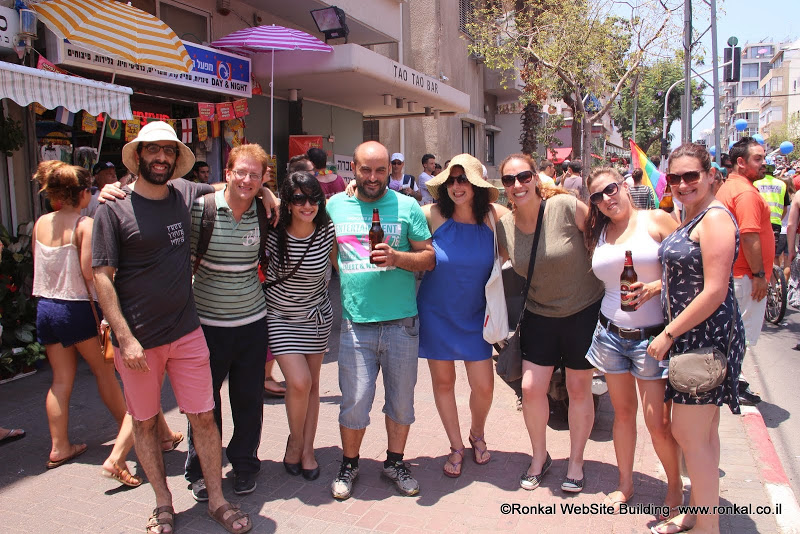 מצעד הגאווה 2014 בתל אביב חגיגה לצלמים