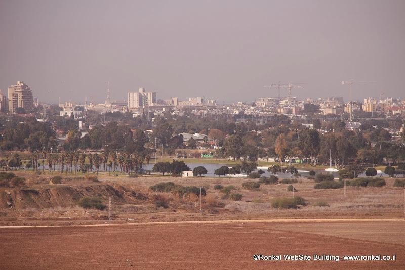 מבט מפארק אריאל שרון