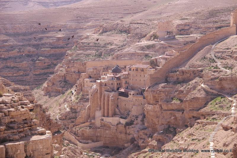 מנזר מרסאבר מדבר יהודה
