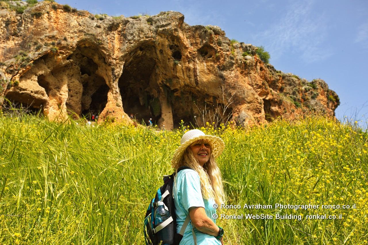 מערת חניה ומערת אביב