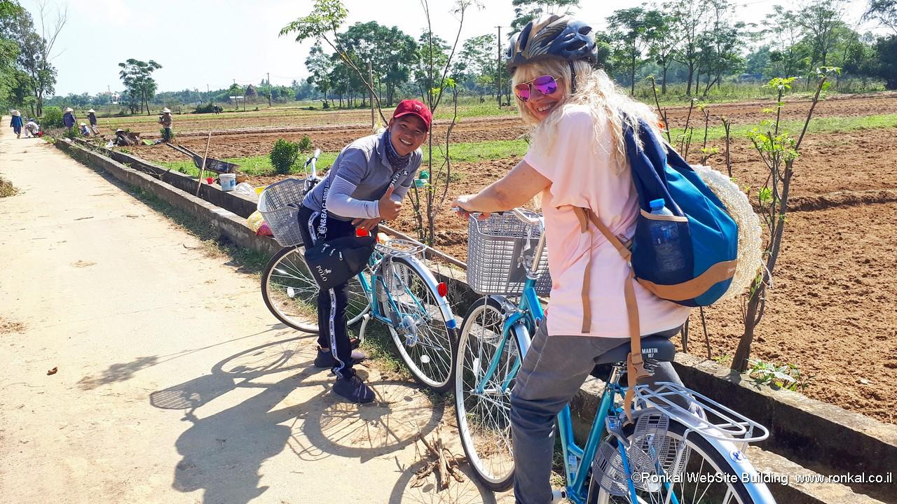 רכיבת אופניים בויטנאם